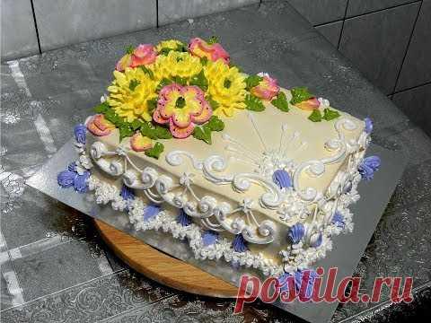 """УКРАШЕНИЕ ТОРТОВ, Торт """"АВРОРА"""" от SWEET BEAUTY СЛАДКАЯ КРАСОТА, CAKE DECORATION"""