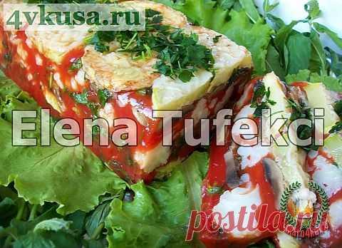 «Томатно-овощное заливное» | 4vkusa.ru