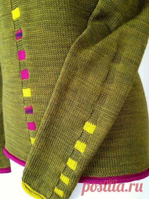 Идеи для отделки вязаного изделия. | Вязальный дзен | Яндекс Дзен