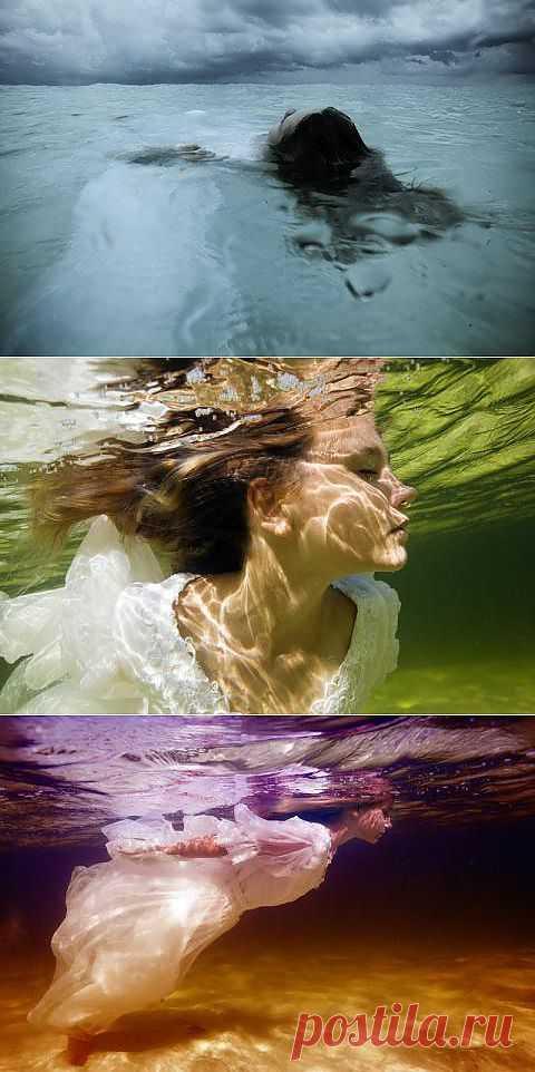 Сказочная страна: под водой (работа Elena Kalis)