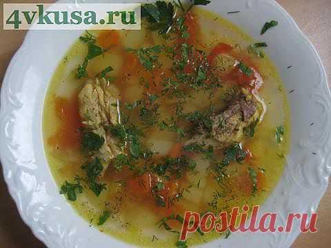 Рыбный суп, золотой.   4vkusa.ru