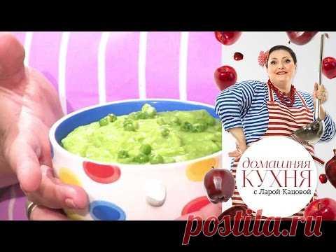El puré verde de las patatas y el guisante