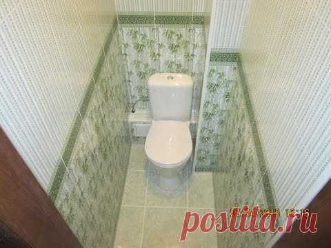 Дизайн и отделка туалета пластиком Бачетто. Секреты монтажа короба из пластика в туалете
