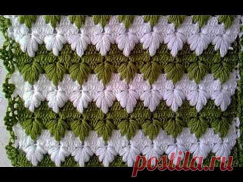 ▶ Patterns hook. Goose pads - YouTube