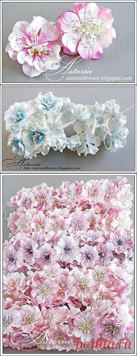 МК Цветы из бумаги.