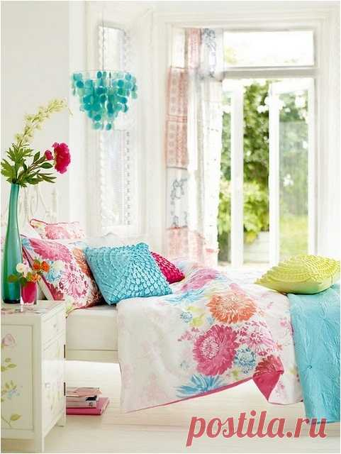 Summer design of the room