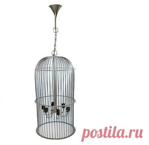 Лампа в клетке / Освещение / ВТОРАЯ УЛИЦА