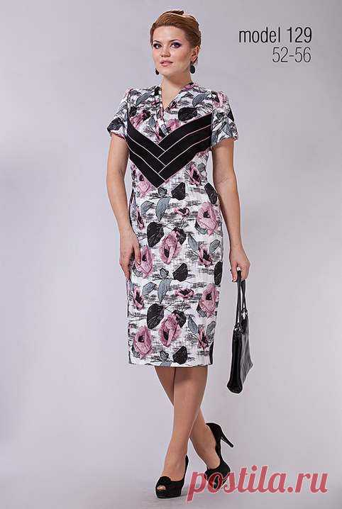 4cf857fd07e Нарядные платья для полных модниц белорусского бренда Lady Line. Осень-зима  2014-2015