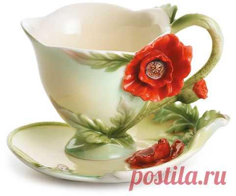 Красивая фарфоровая посуда (фото)