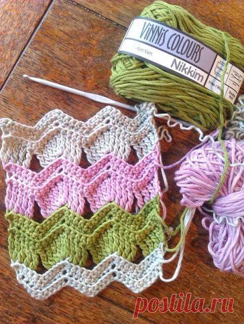 Crochet Vintage Fan Ripple Stitch - CRAFTS LOVED