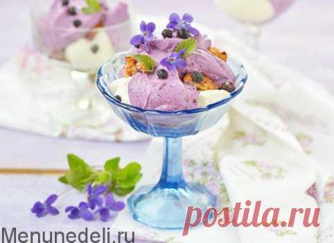 Творожный десерт с хурмой - всего 5 ингредиентов: рецепт пошаговый с фото. | Меню недели