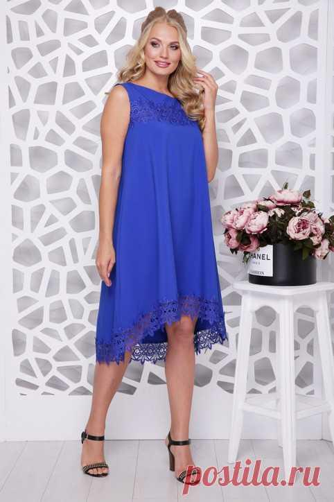 Платья для полных девушек украинского бренда Lenida лето 2021