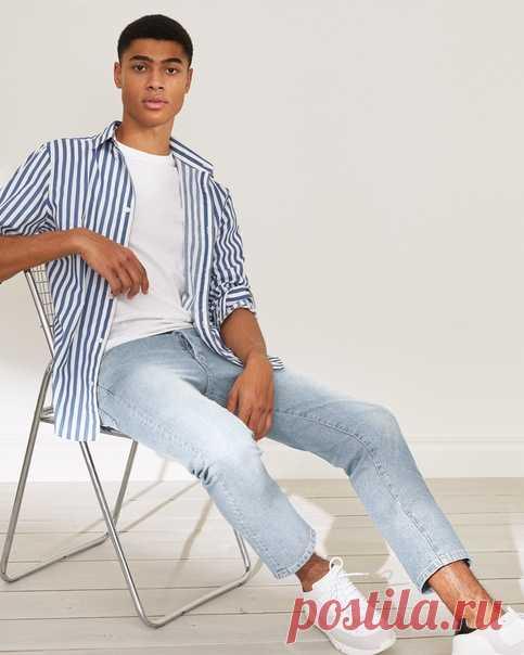 Стильные укороченные джинсы станут ключевой моделью вашего летнего гардероба. Взгляните на наши новинки и приобретайте понравившиеся вам модели прямо сейчас! ⚡ #HMMan