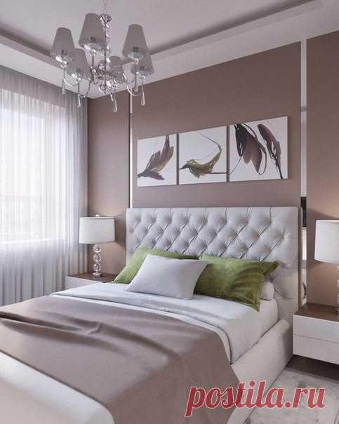 Спальни В Нежных Тонах Фото | 604x483