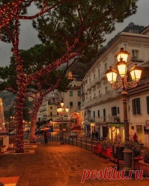 Вечер в Италии