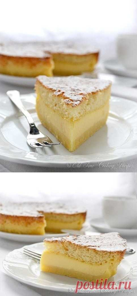 Волшебный торт, который тает во рту (для получения рецепта нажмите на картинку)