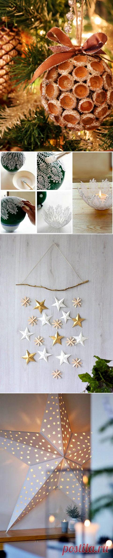 Невероятные новогодние украшения, которые можно сделать своими руками / Я - суперпупер