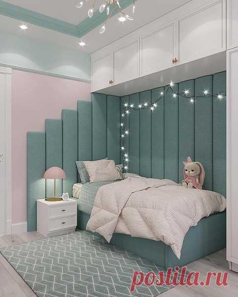 Детская: сказочная и милая! Нравятся закрытые шкафы, рабочее место у окна. Спальное место так и создает желание погрузиться в сон.