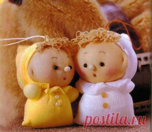 Куколки из капроновых чулков