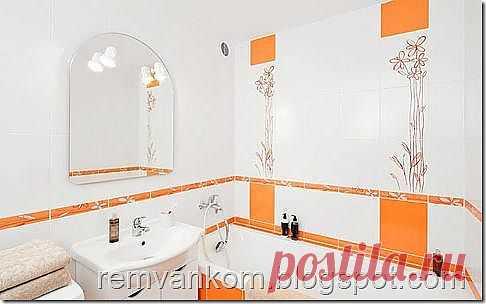 La reparación de los cuartos de baño: la Reparación y el acabado del cuarto de baño en la casa de paneles