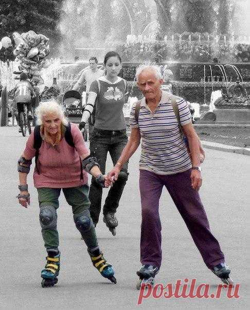 Главное - душою не стареть!