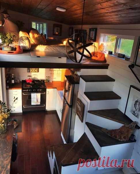 Небольшой двухэтажный домик! Уютно и прекрасно