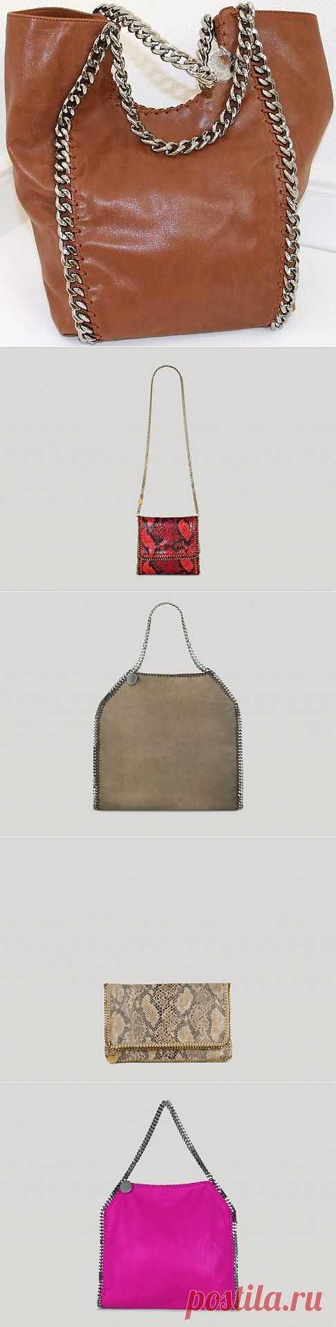 Сумки с цепями от Stella Mccartney (трафик) / Сумки, клатчи, чемоданы / Модный сайт о стильной переделке одежды и интерьера