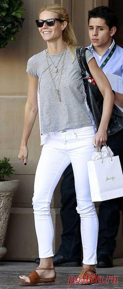 Странная футболка Гвинет / Звездный стиль / Модный сайт о стильной переделке одежды и интерьера