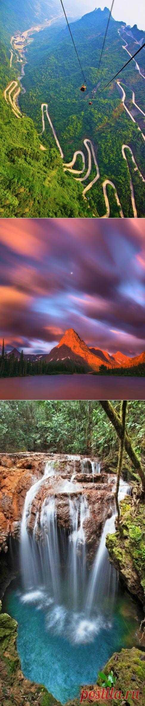20 красивейших мест, где необходимо побывать за свою жизнь