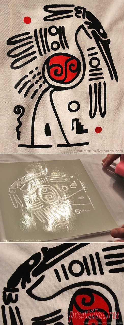 Как быстро нанести сложный рисунок на ткань? / Материалы, техники и инструменты / Модный сайт о стильной переделке одежды и интерьера