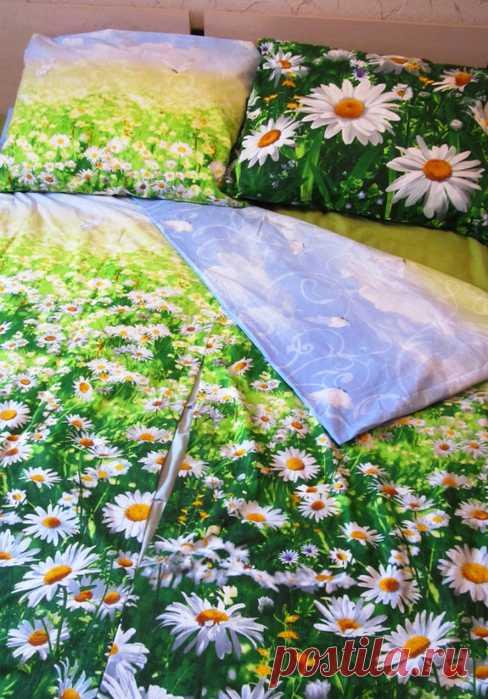 Шьем постельное белье по-разному:быстро или красиво ( МК Elena_laitdream )