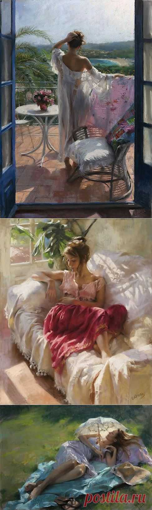 Коллекция работ испанского художника Vicente Romero Redondo.