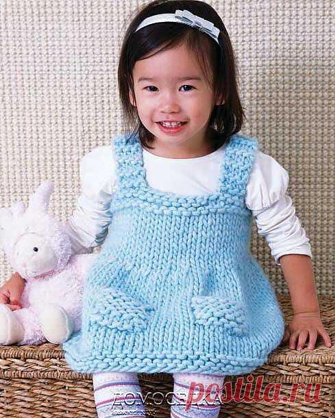 Сарафан для малышки | ДОМОСЕДКА