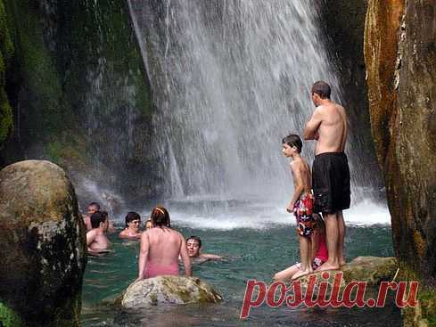 Фото Испании - водопады на Коста Бланка