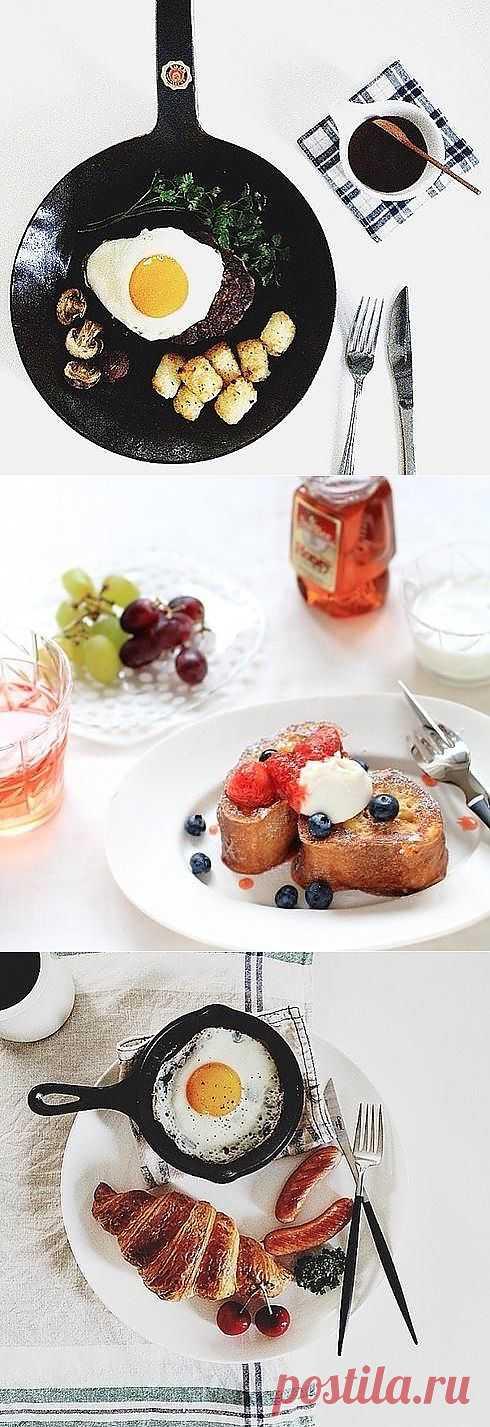 Невероятно красивые завтраки в Инстаграм (Всего 66 фото)