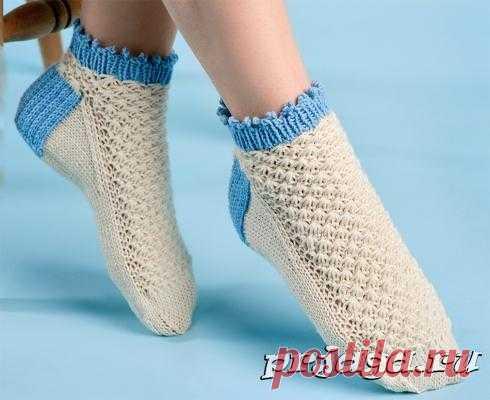 вязаные носки и тапочки крючком и спицами любимое вязание постила