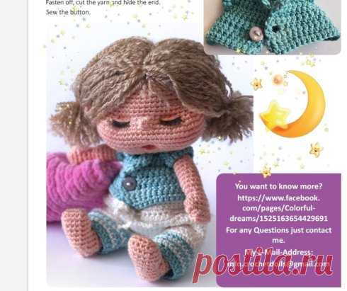 Doll Sofia - that correct doll which will help the kid to finish day and \