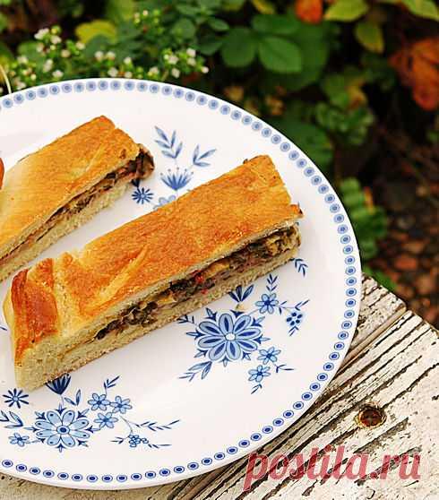 Пирог со свекольной ботвой - Раня