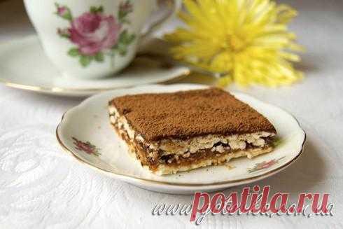 Торт кофейный «Мокко» | Кулинарный блог работающей мамы