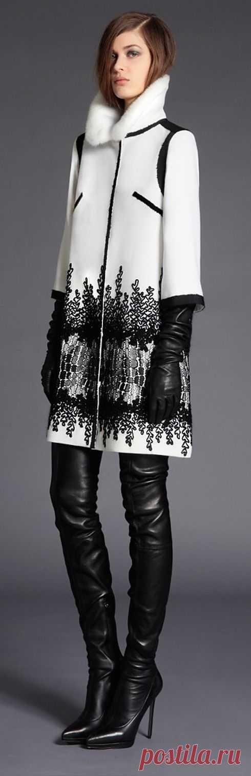 Декорированное пальто / Пальто и плащ / Модный сайт о стильной переделке одежды и интерьера
