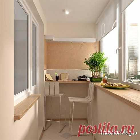Дизайн балкона - 14 фото   ИнтерьерМаг.ру
