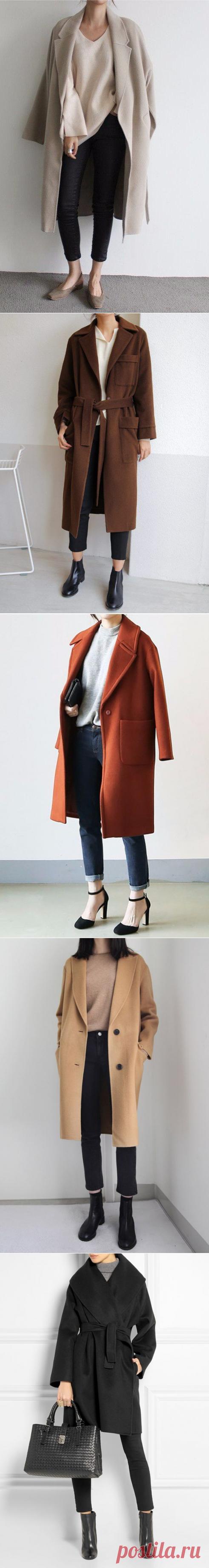 Простое пальто - самое то — Модно / Nemodno