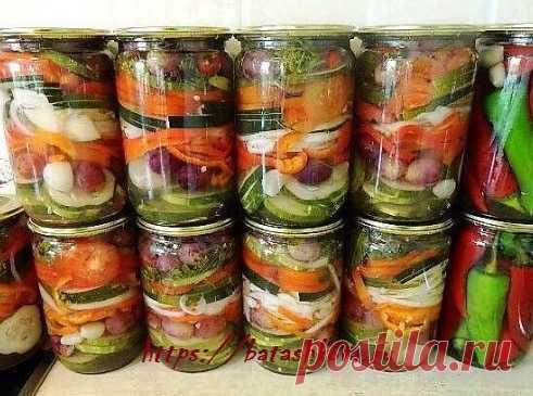 Салаты на зиму - самые вкусные и лучшие рецепты салатов на зиму...