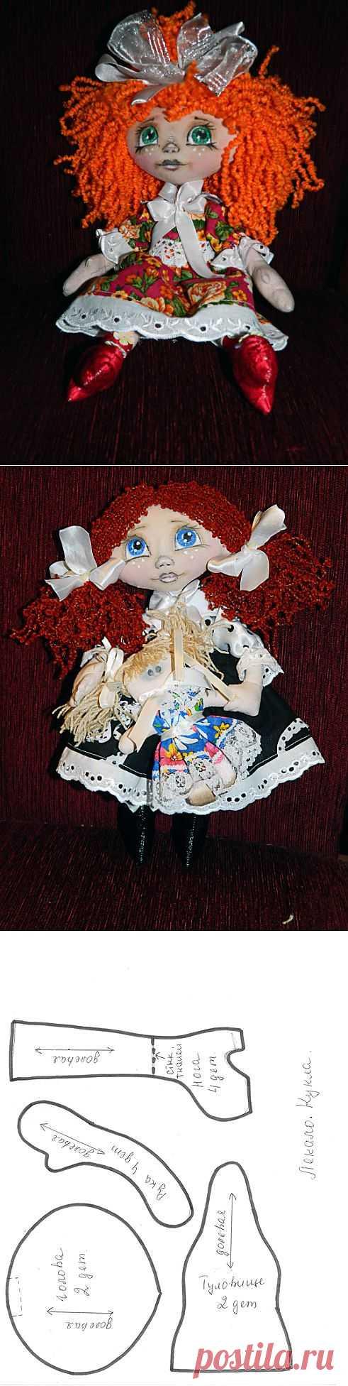 (+1) тема - МК текстильная кукла №2 | РУКОДЕЛИЕ