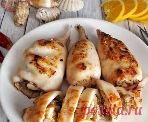Фаршированные кальмары | Самые вкусные кулинарные рецепты