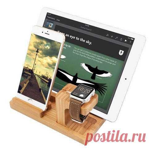 Крутой держатель для смартфона, планшета и часов