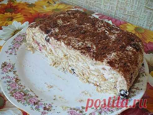 торт без выпечки - Простые рецепты Овкусе.ру