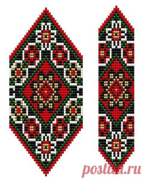 gerdany de los abalorios las flores del esquema: 19 tys de las imágenes es encontrado en el Yandex. Las estampas