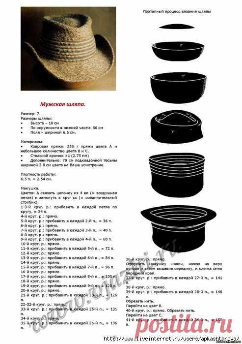 Ажурные шляпки и зонтики крючком...   Записи в рубрике Ажурные шляпки и зонтики крючком...   Дневник olgaaaa10