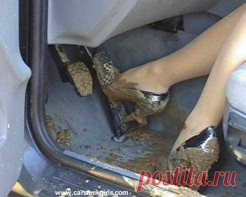Как вытащить автомобиль из грязи